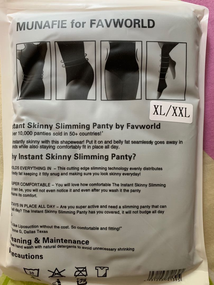 e48034732d33 Munafie slimming panty from Favworld, Health & Beauty, Bath & Body ...