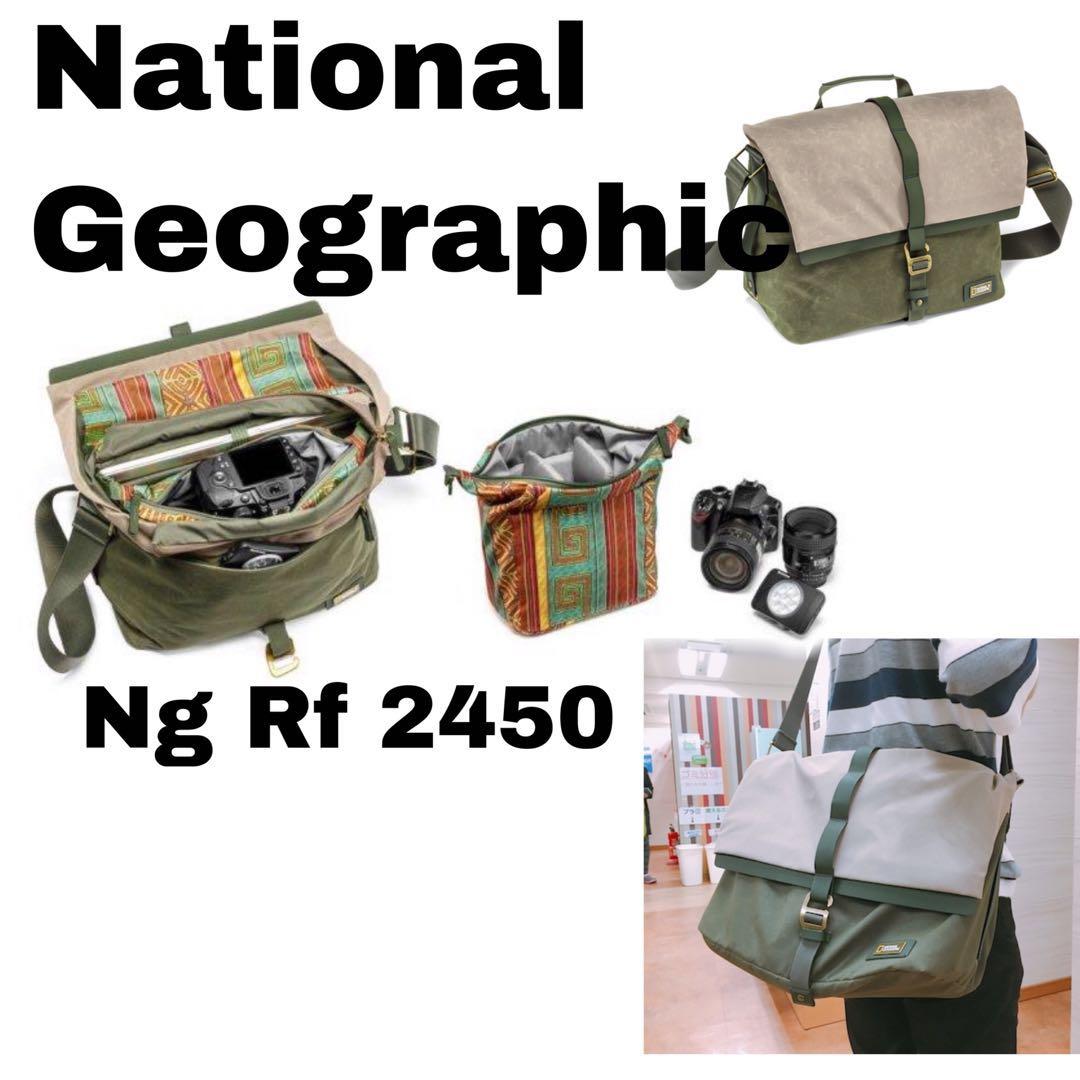 9049d42e3b National Geographic NG RF 2450 Rain Forest Camera Messenger Bag ...