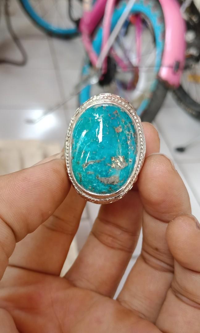 Natural Cincin Blue Pirus Persi Jumboo