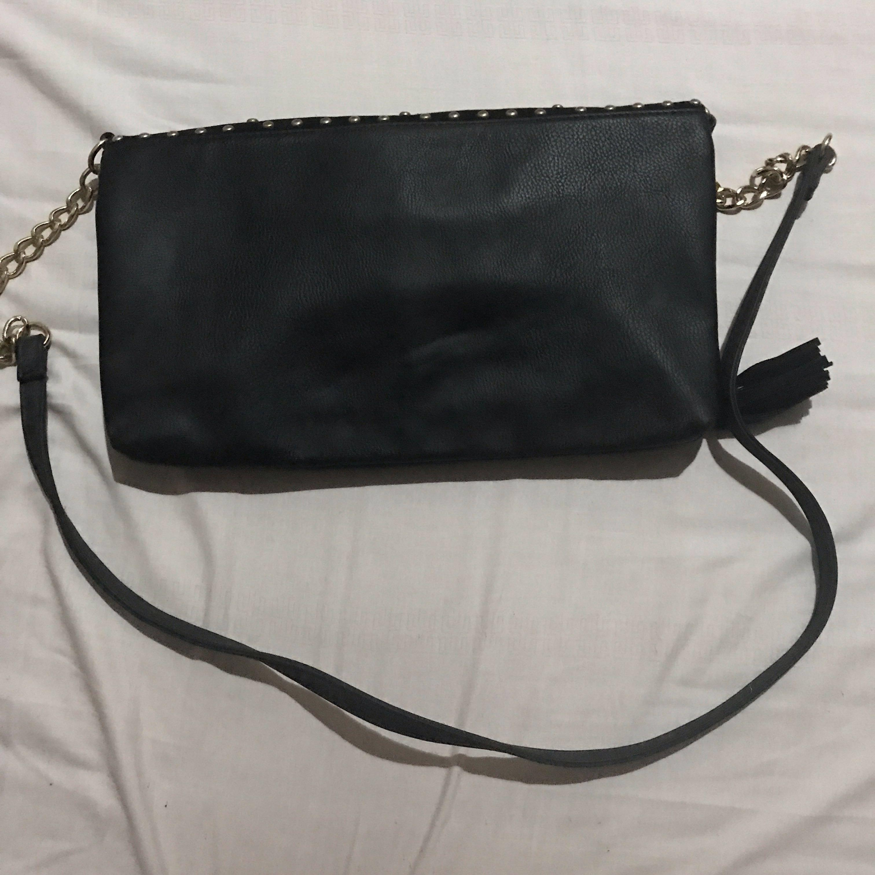 New look long strap pouch