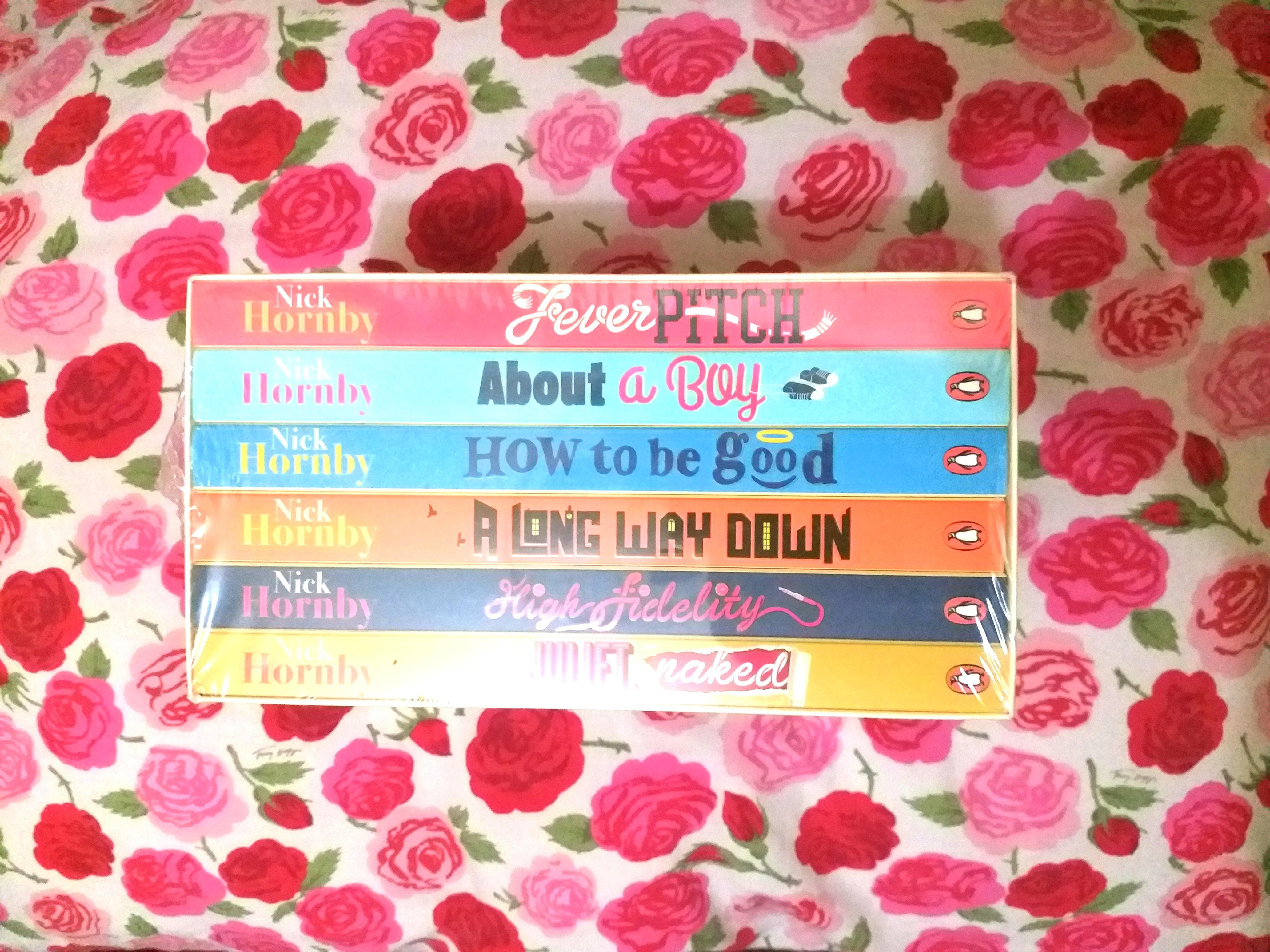 Nick Hornby boxed set