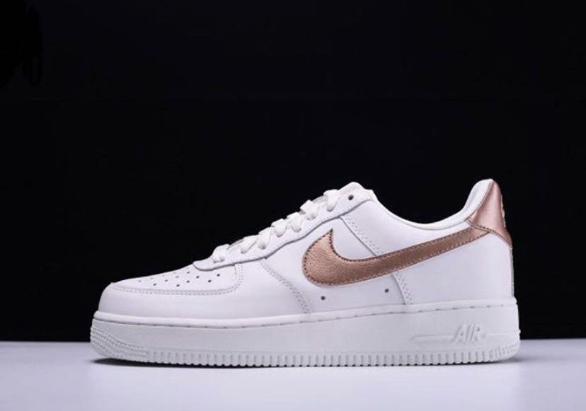 nike air force 1 rose gold