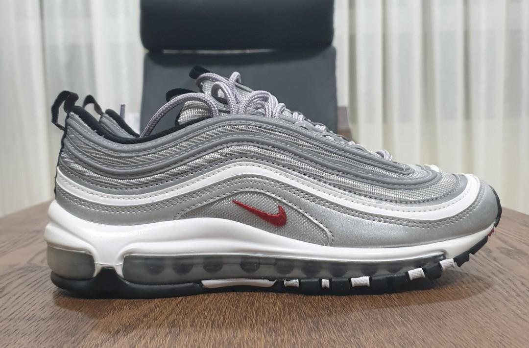Nike Airmax 97 Silver Bullet, Women's Fashion, Shoes