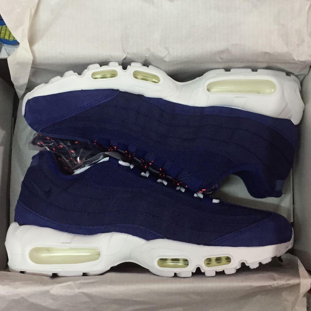buy online 9406b e1fec Nike Stussy Air Max 95 Blue us 8.5 AIRMAX95