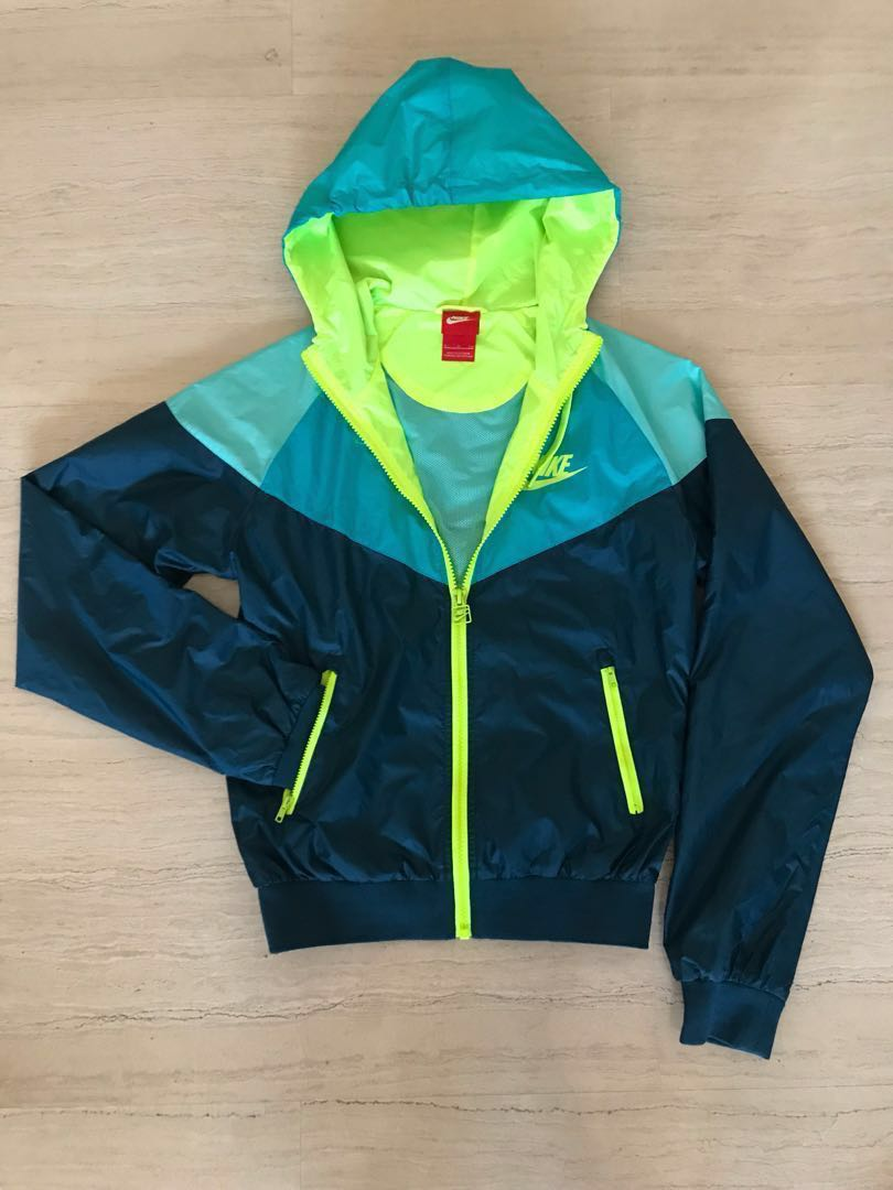 2915a5d46317 Nike Windrunner Jacket - Neon Green