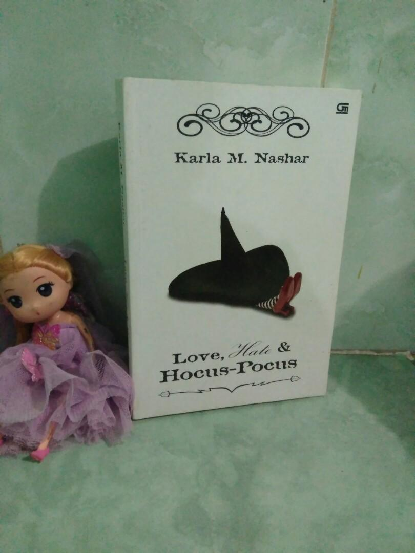 Novel Love Hate & Hocus Pocus by Karla M Nashar