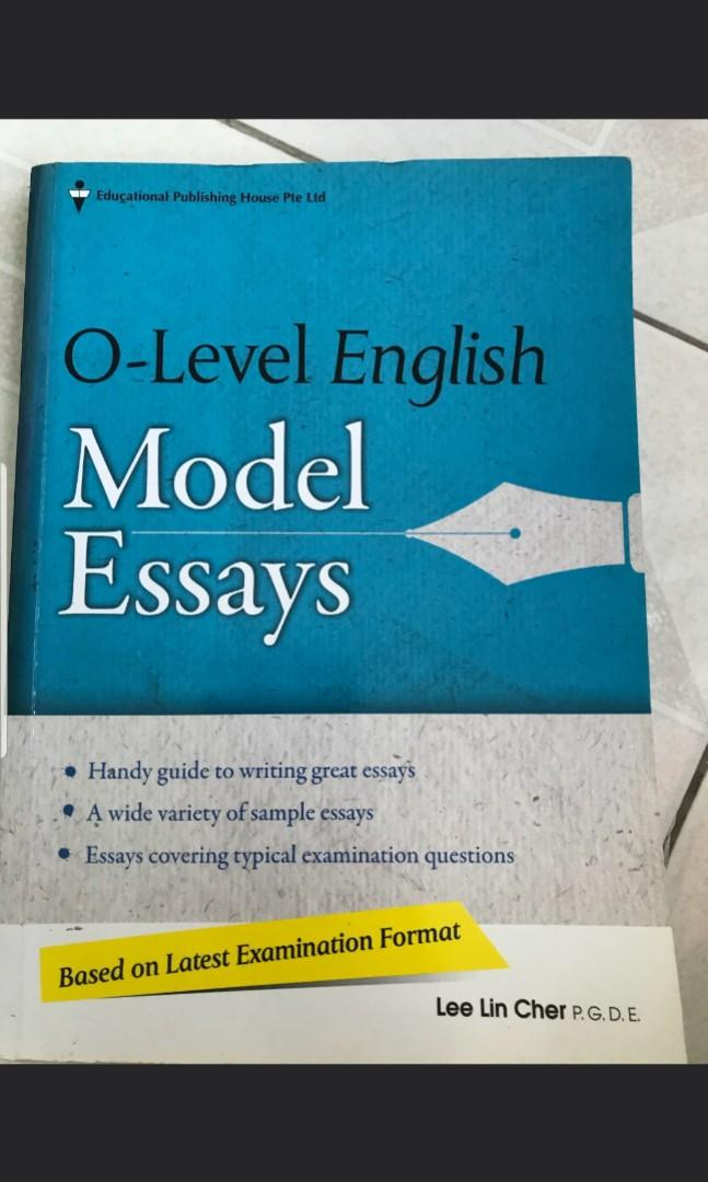 o level english essay book books  stationery textbooks