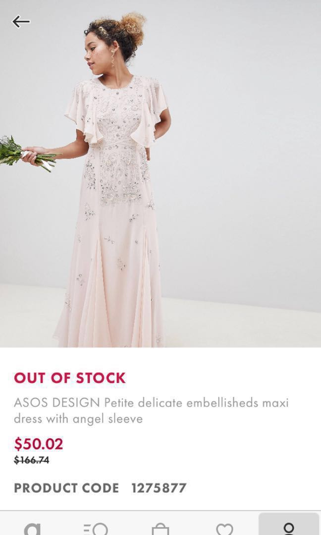 fd1776aefdc6 OOS ASOS PETITE dress, Women's Fashion, Clothes, Dresses & Skirts on  Carousell