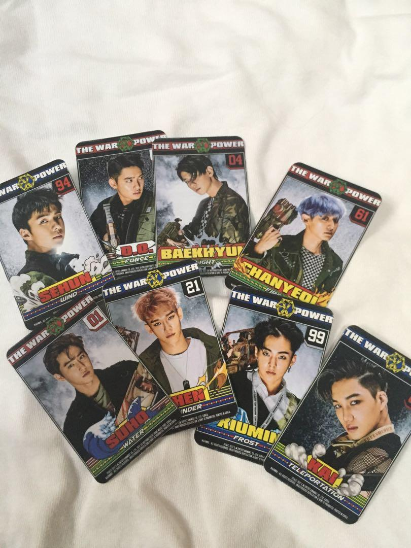Photocard EXO The War