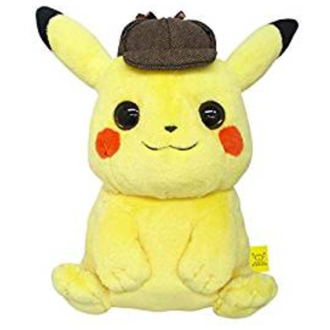 Pokemon Center Pokemon The Movie Meitantei Detective Pikachu Plush