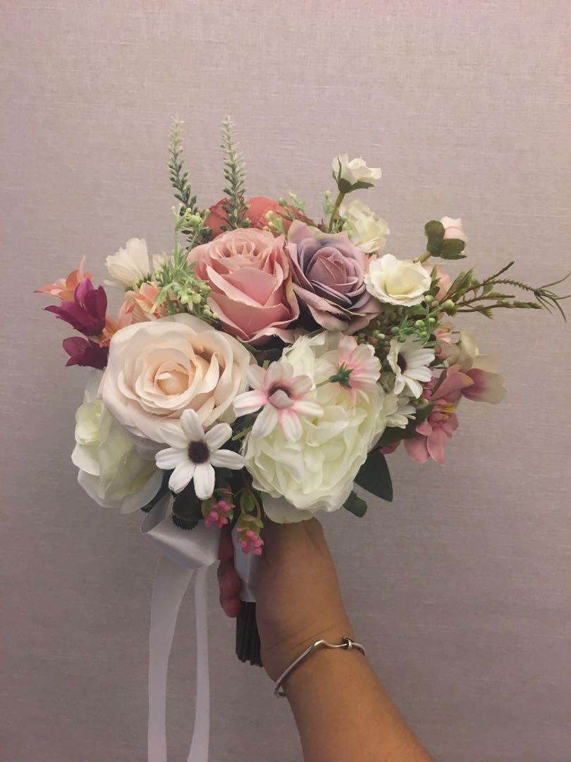 Pre Wedding 絲花 花球 幸福承傳 環保婚禮