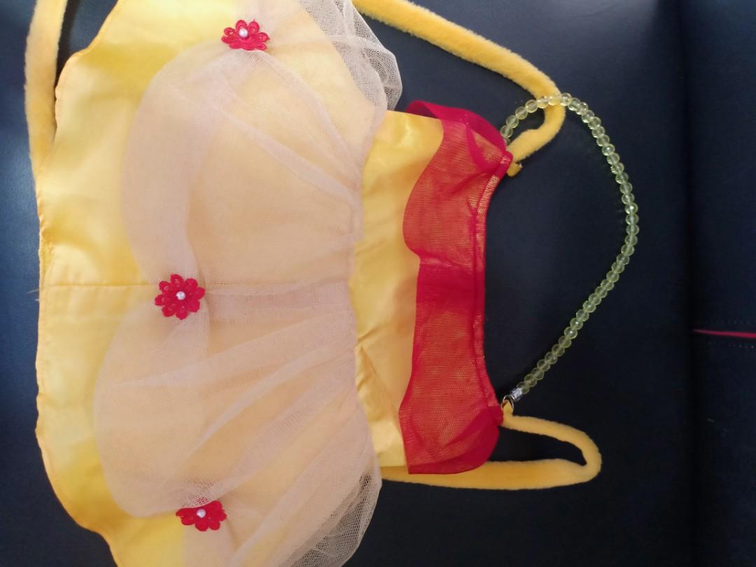 Reprice Preloved Tas Anak Disney / Preloved Beauty and the Beast Bag / Preloved Belle's Bag