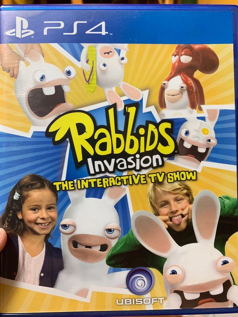PS4 game Rabbids invasion