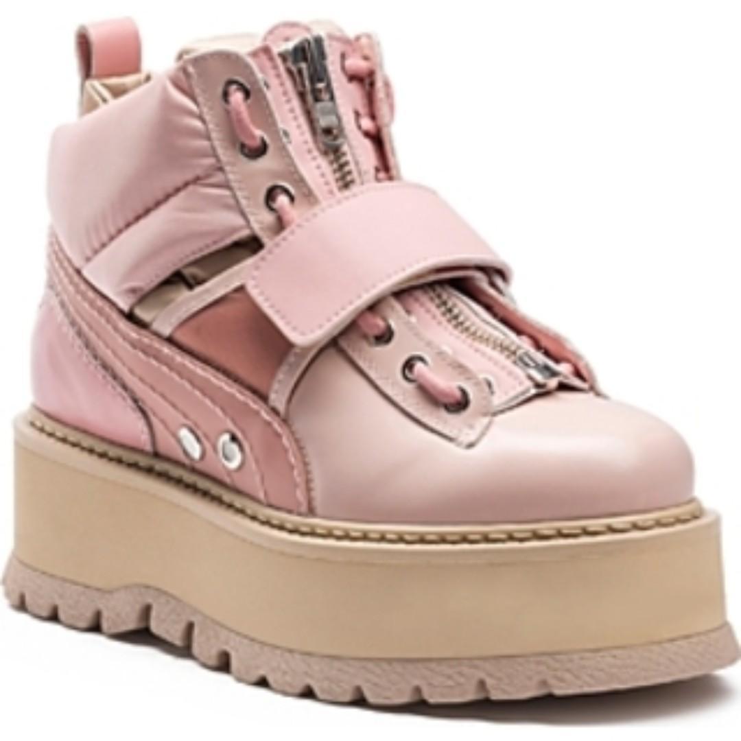 buy online 2d64c 1e19d Puma Fenty Rihanna platform sneaker pink on Carousell
