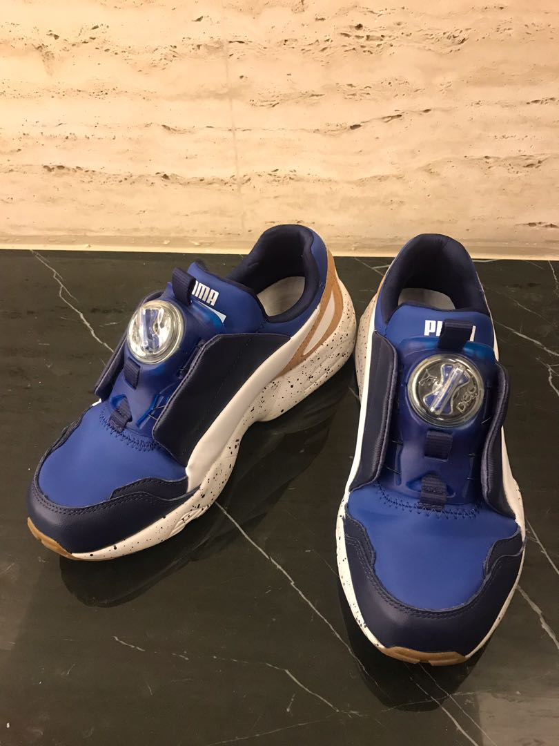 separation shoes c0ebd 7f5c1 PUMA MCQ Disc Blue, 運動休閒, 運動鞋在Carousell