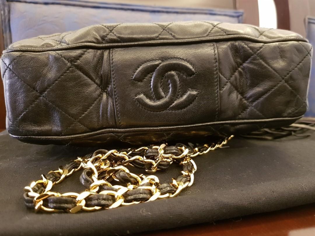(REPRICE) Authentic Vintage Chanel Camera Bag