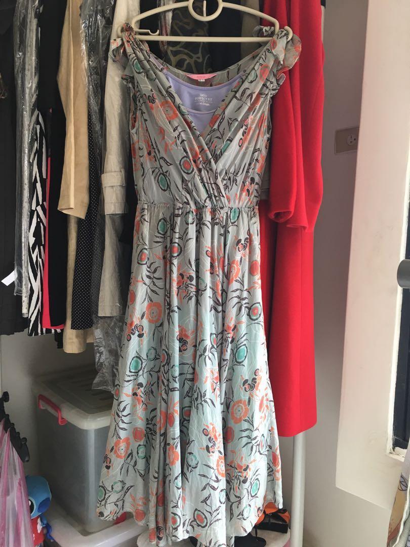 ROBYN HUNG專櫃棉麻洋裝