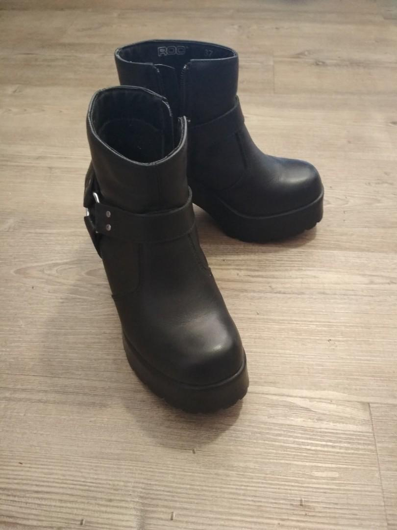 roc musket black boots