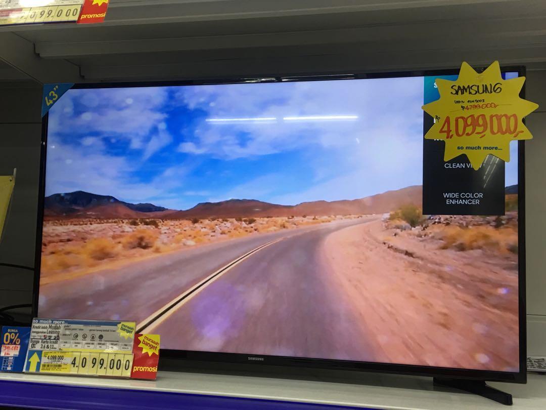 """Samsung Led Digital Tv 43"""" Promo Kredit Murah Free 1x"""