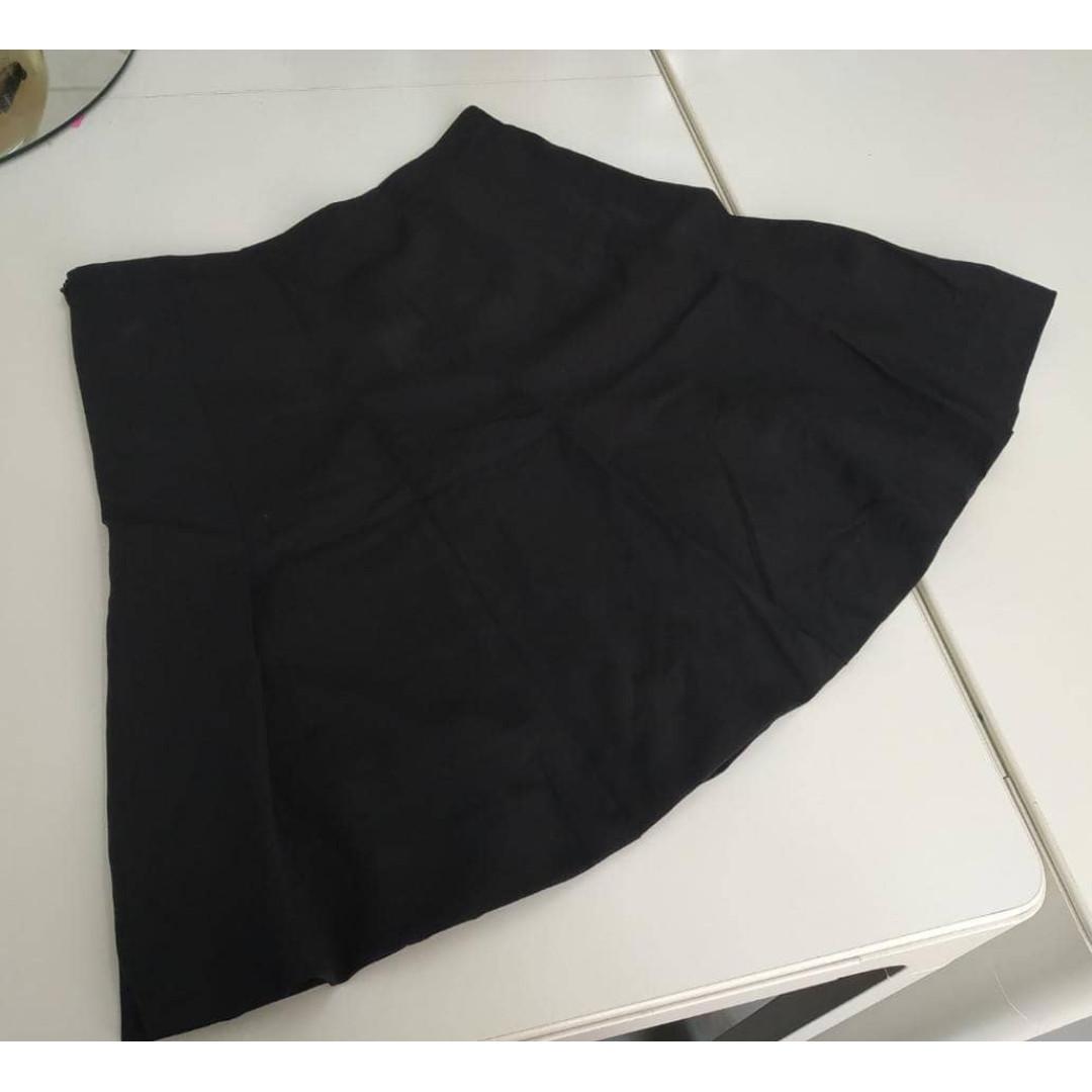 Skater Skirt Black Calvin Klein