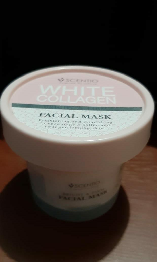 Scentio White Collagen Facial Mask - FREE ONGKIR