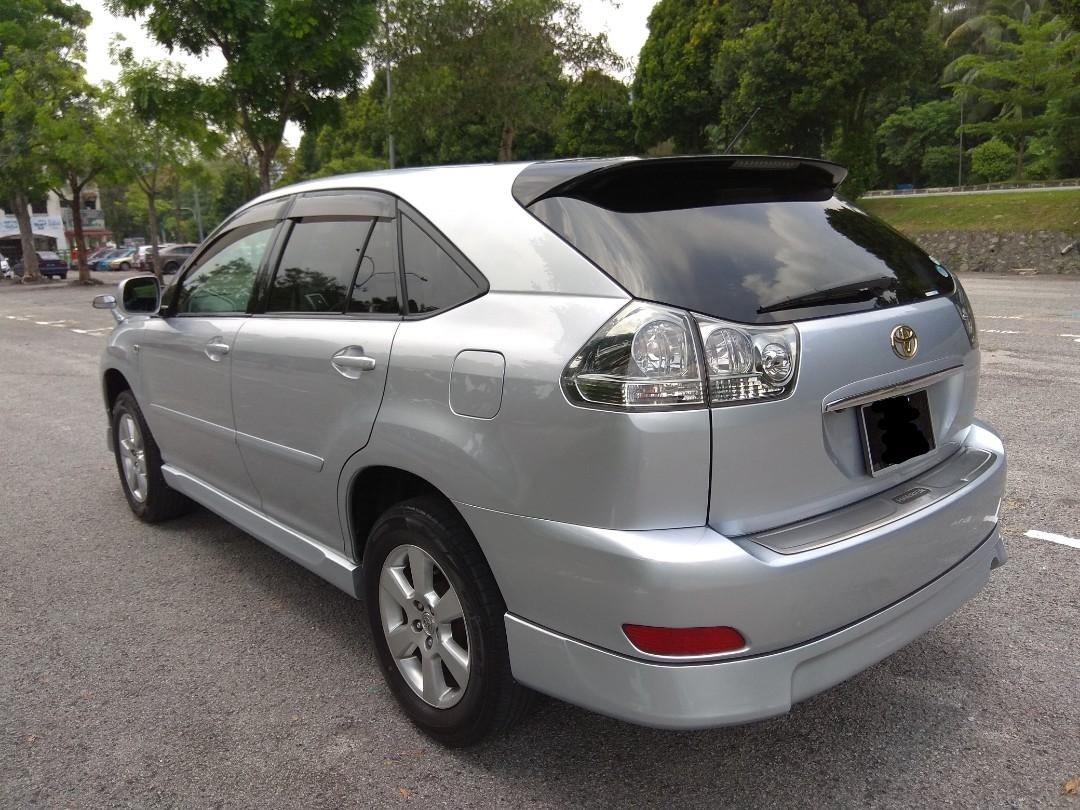 TOYOTA HARRIER 240G (A) PREMIUM 1 MALAY DATO OWNER PERFECT CONDITION YEAR 2011/06