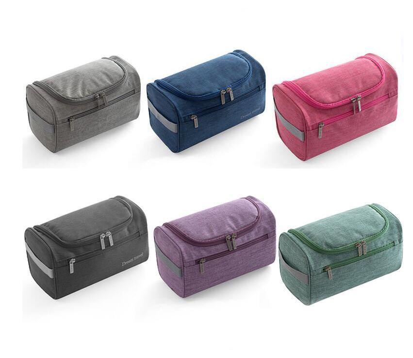 Travel Wash Bag Toiletry Toiletries Organizer Hanging Folding Bag Ladies Women Make Up Travel Bag-intl