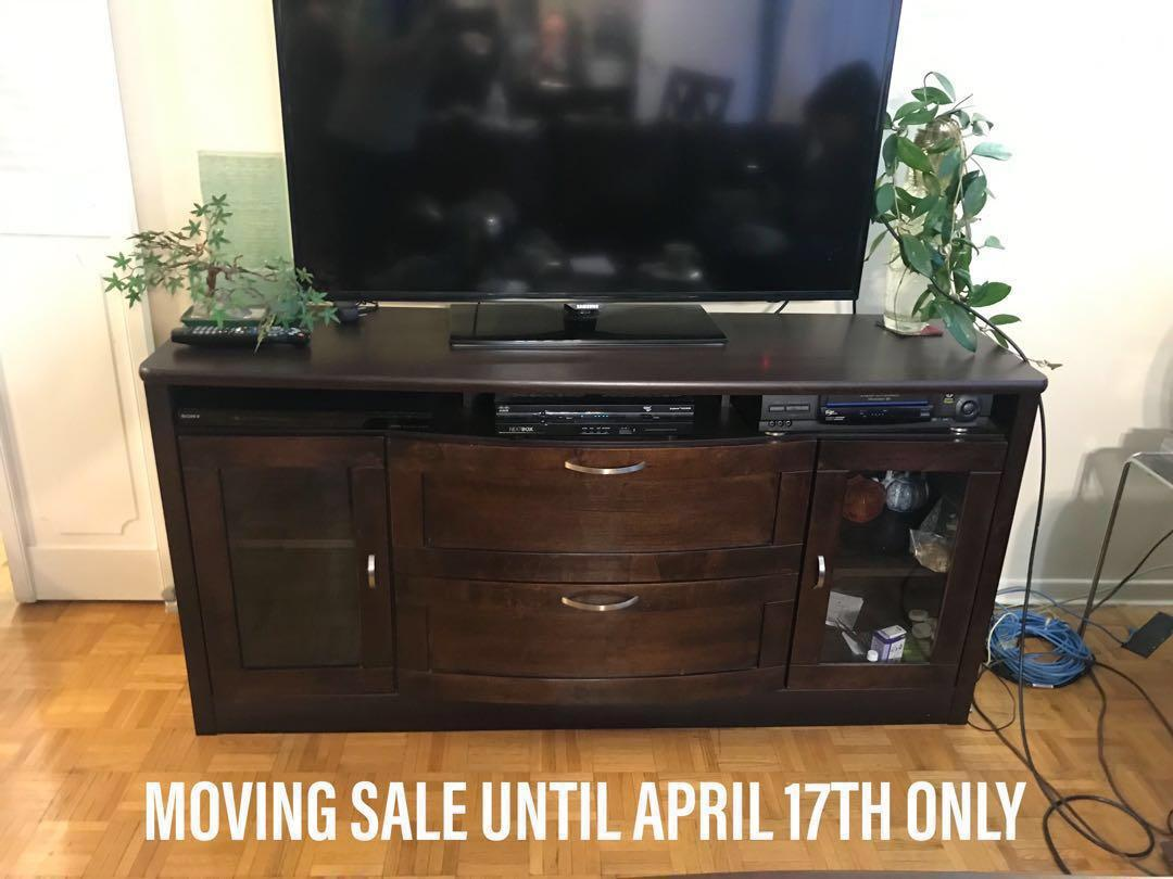 TV TABLE CREDENZA CONSOLE BUFFET SERVER SIDEBOARD MOVING SALE