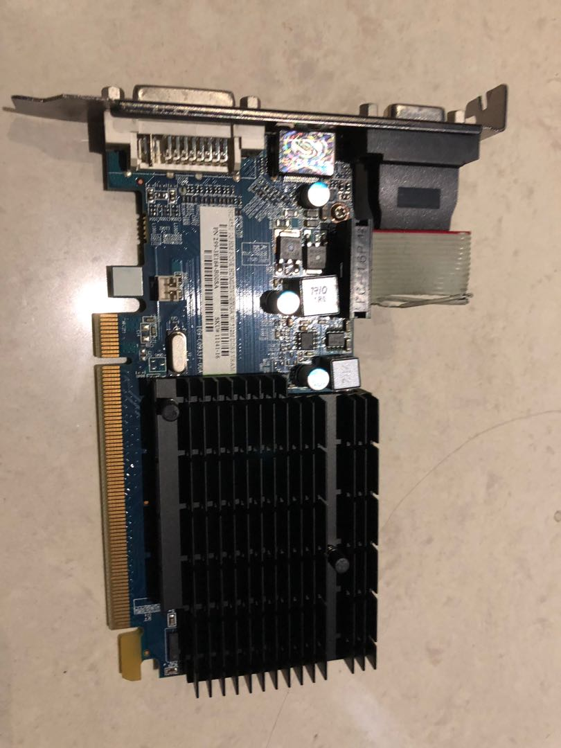 VGA ATI Radeon HD 4550, 1GB HM, 512 MB GDDR3 VRAM, Electronics