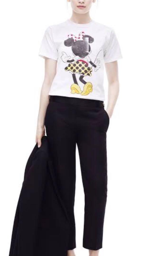 Victoria Beckham Minnie T-shirt Made in Italy size 2