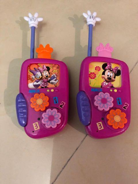 Walkie Talkie Mainan Anak (pakai batere)