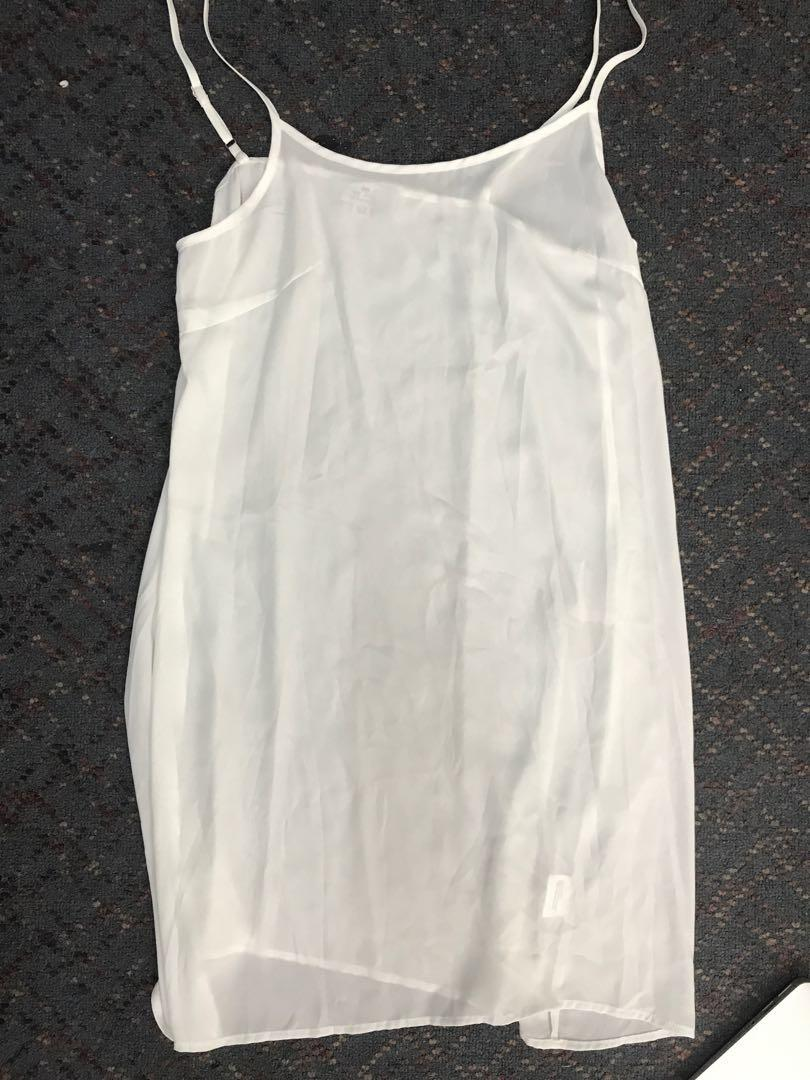 We are kindred white dress top size 10 new
