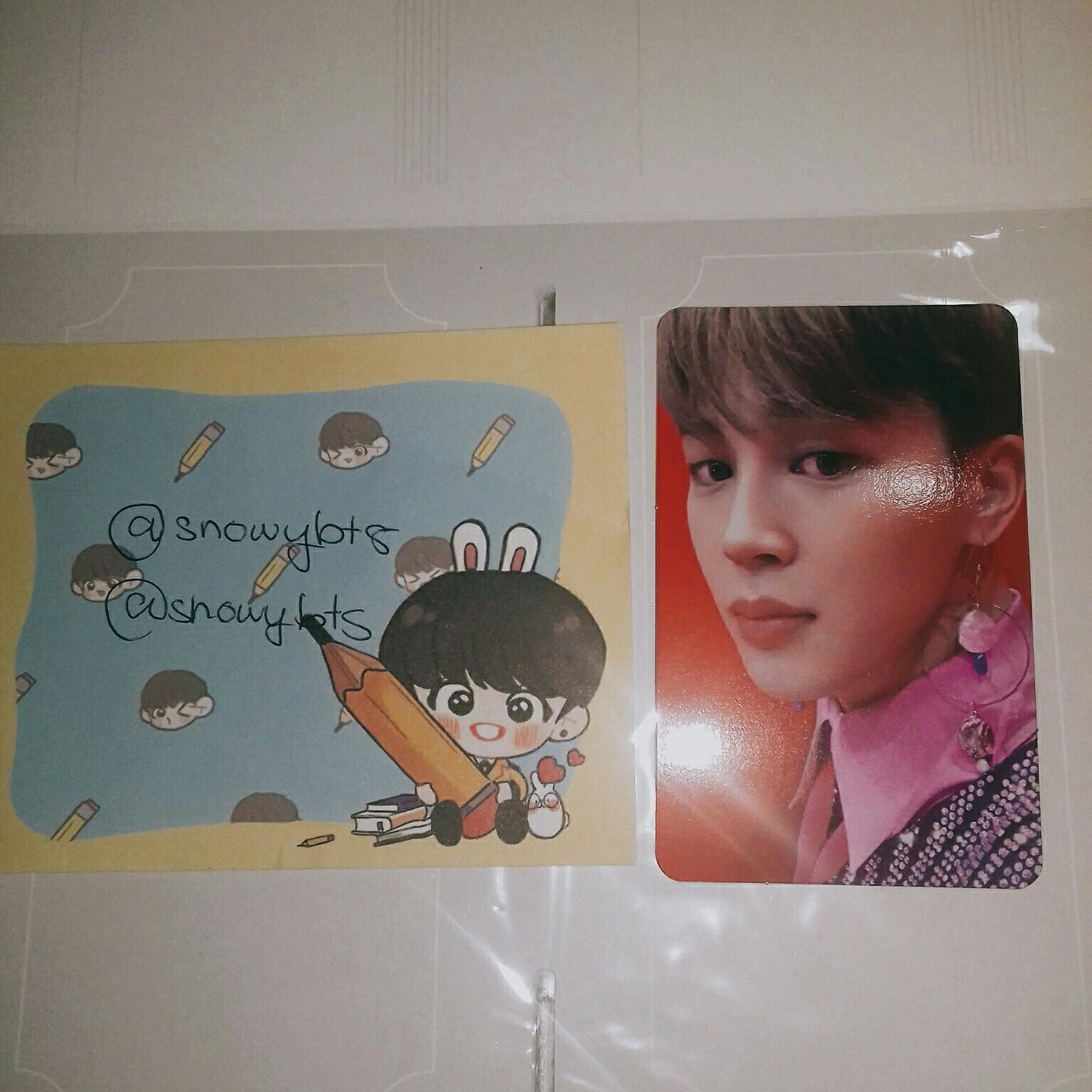 [WTS] BTS JIMIN Love Yourself Answer S ver Photocard
