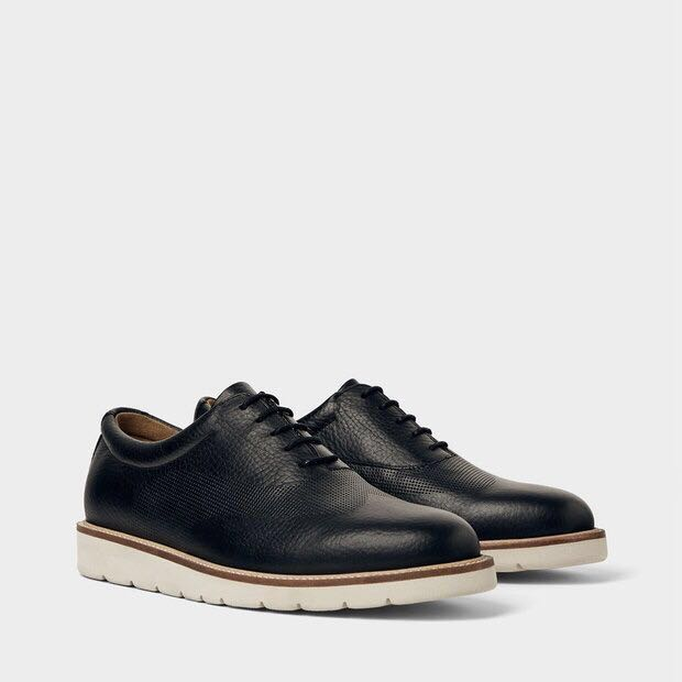 3adaab6e Zara Men's Leather Sneakers