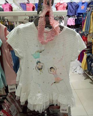 Mothercare Tulle Tee ( Baby Girl )