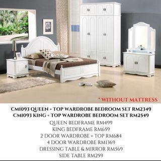 QUEEN / KING BEDROOM SET