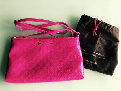 Kate Spade Hot Pink Crossbody from US #EndGameyourExcess