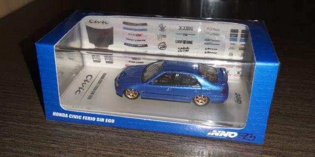 INNO64 Honda Civic Ferio SiR EG9 藍色
