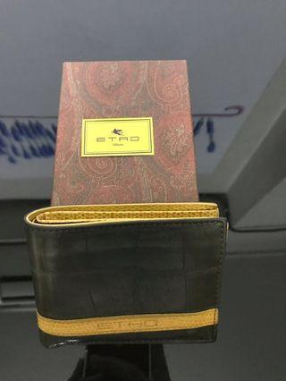 Pre loved Etro men's wallet