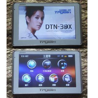 Trywin DTN-3DX 5吋行車記錄GPS衛星導航