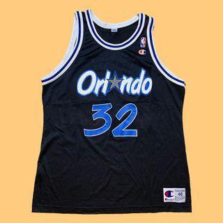 JCI:Vintage Champion NBA 奧蘭多 魔術隊 客場球衣 / 嘻哈 / 90s / 冠軍牌 / 古著