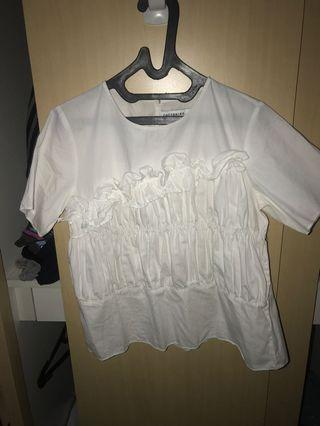 White Top cotton ink