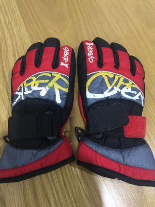 Cyber-x red gloves size S