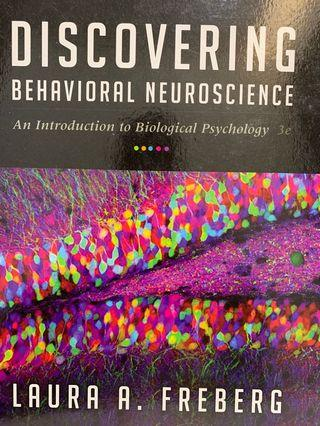 Discovering Behavioural Neuroscience 3rd Edition