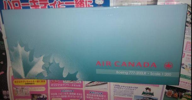 珍藏版飛機模型 加拿大航空 Air Canada 1:200 Boeing 777-200