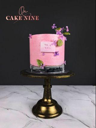 Mother's Day Hydrangea Cake