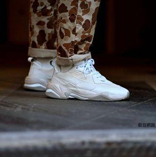 🚚 (急售)Puma thunder desert /Puma thunder spectra 泫雅 米白 老爹鞋 附鞋盒