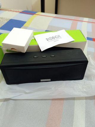 Dijual portable bluetooth speaker