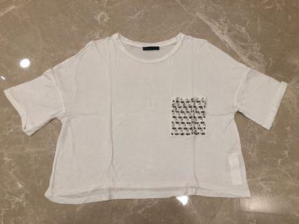 Zara Crop Top Size S