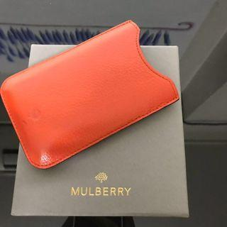Pre loved Mulberry iphone 3/4 case